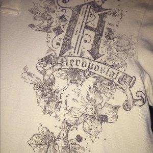 Men's aeropostal polo shirt L